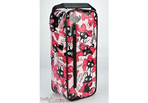 Coolcat Carrier Bag Bow Cats Pink