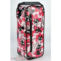 Carrier Bag Bow Cats Pink