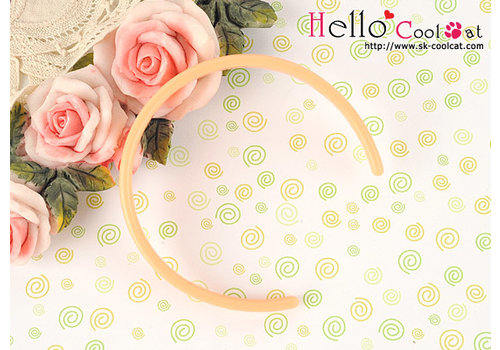 Coolcat Simple Hair Band Sweet Peach
