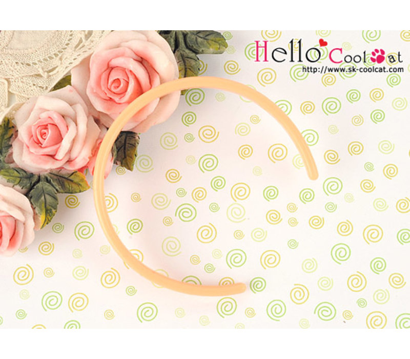 Simple Hair Band Sweet Peach