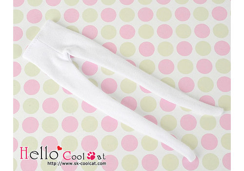 Coolcat Pantyhose Socks White