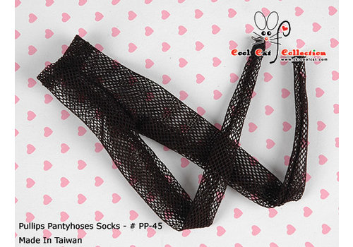 Coolcat Pantyhose Socks Thin Net Black