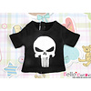 Coolcat Short Sleeve T-shirt Silver Skull