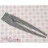 Coolcat Pantyhose Socks Stripe Black + White