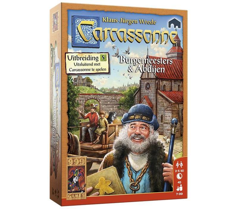 999 Games Carcassonne: Burgemeesters en Abdijen