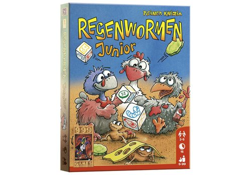 999 Games 999 Games Regenwormen Junior (A13)