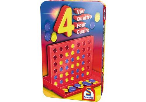 999 Games Schmidt Vier Op Een Rij - Compact