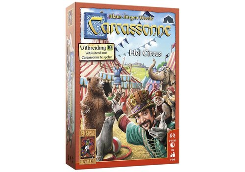 999 Games 999 Games Carcassonne: Het Circus