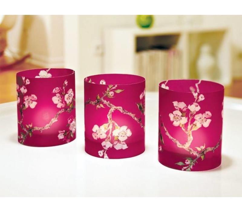 Cedon Papieren lantaarn cherry blossom framboos