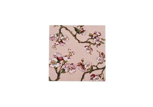 Cedon Cedon Servetten cherry blossom roze