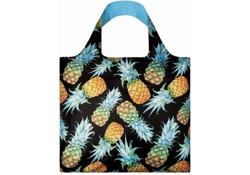 Loqi Loqi Opvouwbare draagtas Ananas