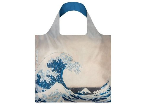 Loqi Loqi Opvouwbare draagtas museum collectie - The Great Wave