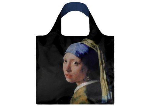 Loqi Loqi Opvouwbare draagtas museum collectie - Het meisje met de parelende oorbel