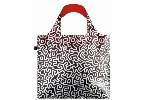 Loqi Loqi Opvouwbare Draagtas Keith Haring Untitled