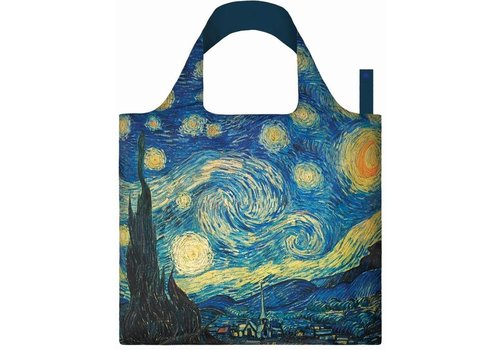 Loqi Loqi Opvouwbare draagtas museum collection - Starry Night