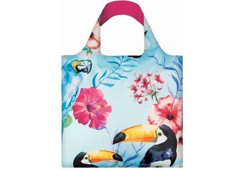 Loqi Loqi Opvouwbare draagtas Tropical Birds