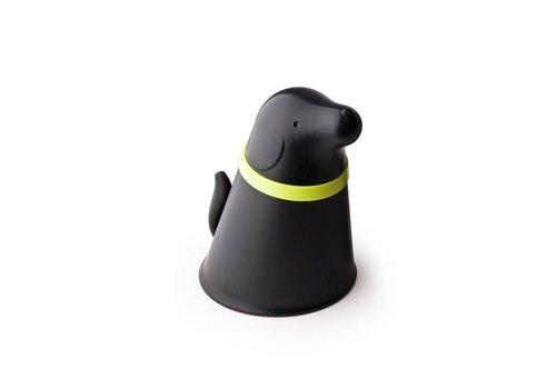 Qualy Qualy Pupp voer- en opslagbak voor honden zwart