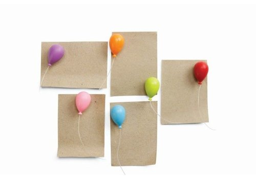 Qualy Qualy Balloon Magnets - set van 6