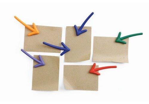 Qualy Qualy Arrow Magnets - set van 6
