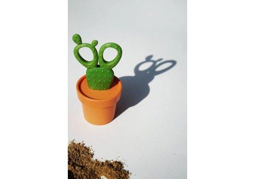 Qualy Qualy Cactus Schaar Tray Oranje/Bruin