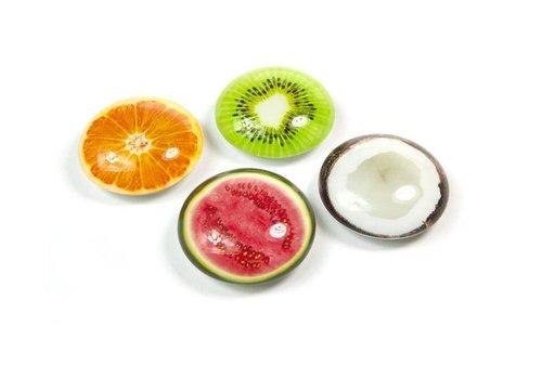 Trendform Trendform set van 4 Magneten Tropische Fruit