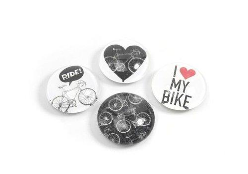 Trendform Trendform Magnet Eye Set van 4 Magneten Bike