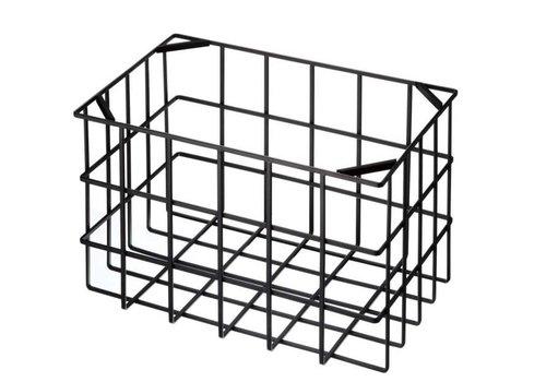 Yamazaki Yamazaki Kitchen Basket L Black
