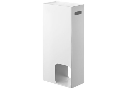 Yamazaki Yamazaki Toilet Paper Stocker Tower White