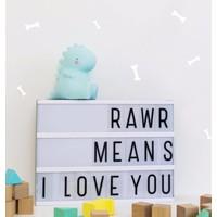 A Little Lovely Company Mini Lamp T-Rex