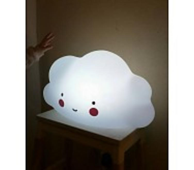 A Little Lovely Company Grote wolklamp wit