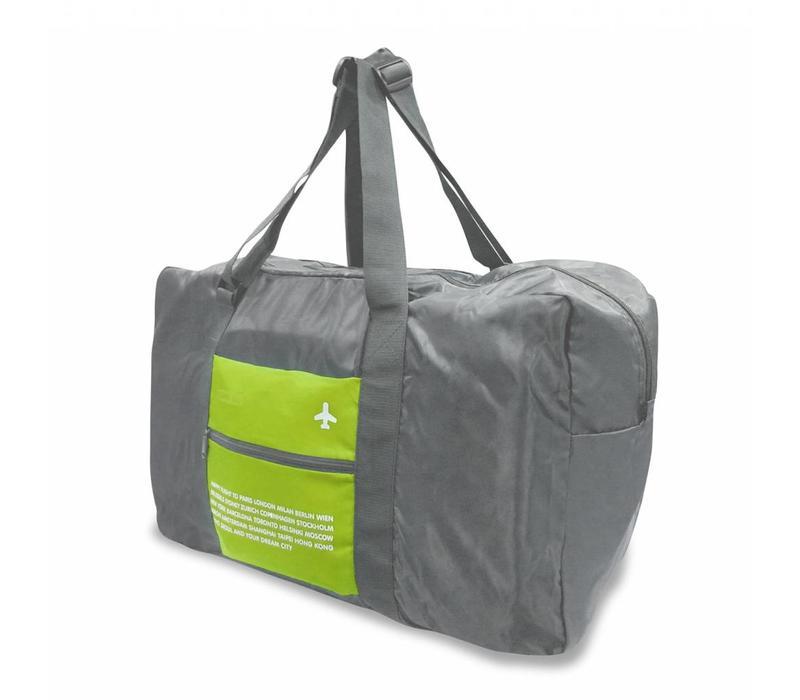 Alife Opvouwbare reistas grijs/groen 43L