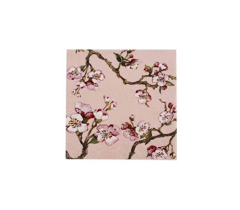 Cedon Servetten cherry blossom roze