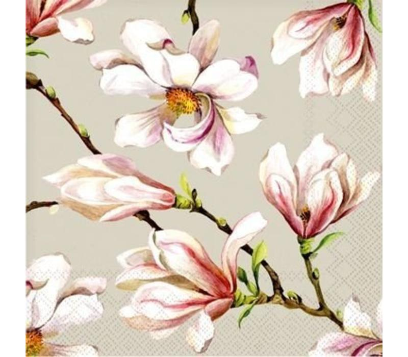 Cedon Servetten Magnolia grijs
