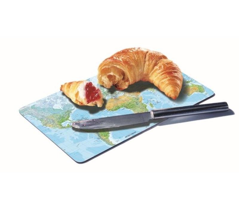 Remember Broodplankje - Wereldkaart
