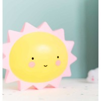 A Little Lovely Company Mini Lamp Sun