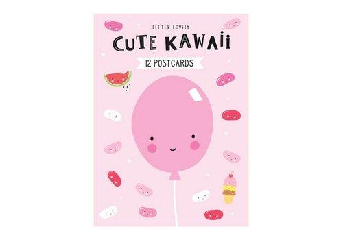 A Little Lovely Company A little lovely company postkaarten set Cute kawaii