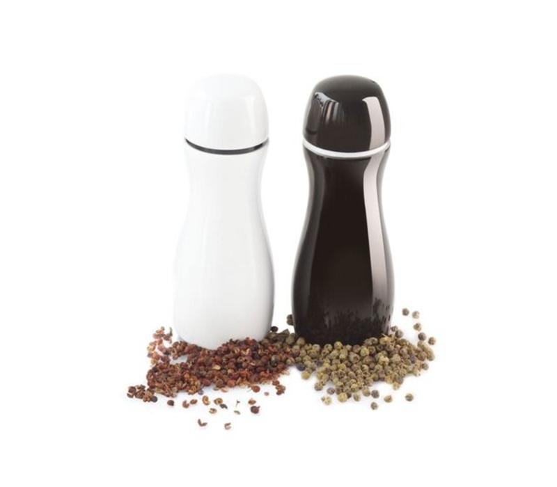 ASA Peper- en zoutmolen zwart