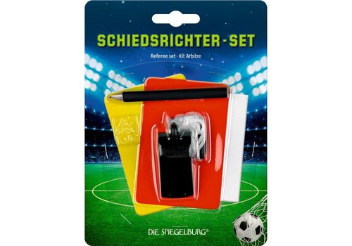 Die Spiegelburg Football Referee set