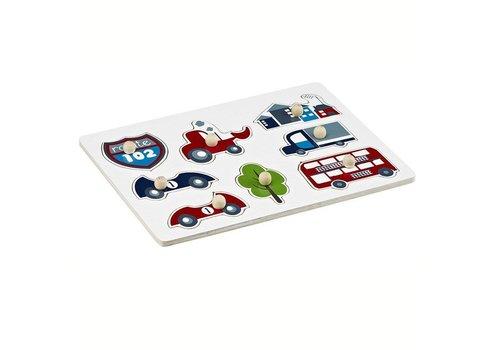 Kids Concept Kids Concept puzzel voertuigen