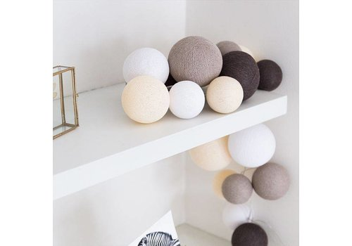 Cotton Ball Lights Cotton Ball Lights Premium Natural Softs 20 L