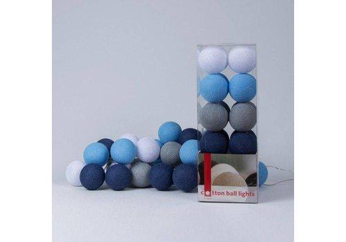 Cotton Ball Lights Cotton Ball Lights Box Sailor Blue 20 L
