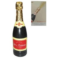 Champagnefles met Confetti