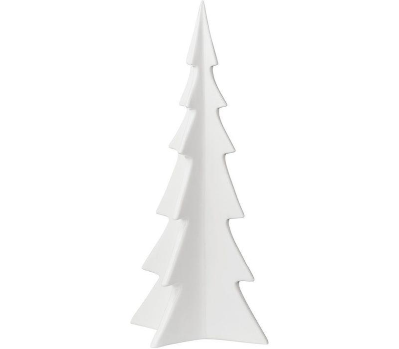 Bloomingville Christmas Tree white porcelain