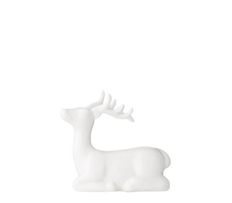 Bloomingville reindeer white porcelain
