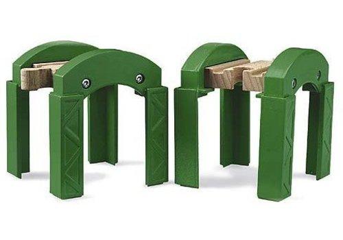 Brio Brio Groene Spoorbrug Pijlers
