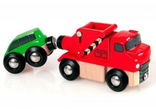 Brio Brio Sleepwagen met Auto
