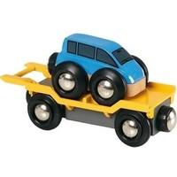 Brio Auto Transporter Met Oprijplaat