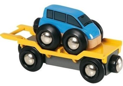 Brio Brio Auto Transporter Met Oprijplaat