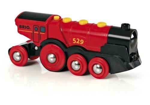 Brio Brio Rode Locomotief Op Batterijen