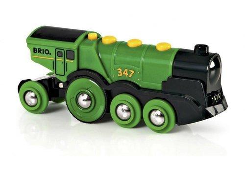 Brio Brio Groene Locomotief Op Batterijen